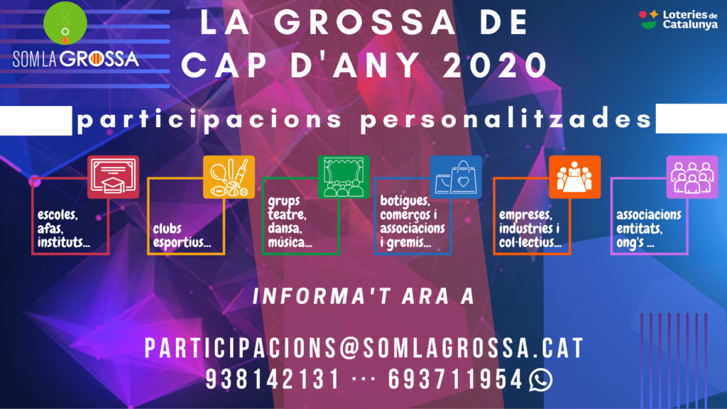 PARTICIPACIONS LA GROSSA CAP D'ANY 2020